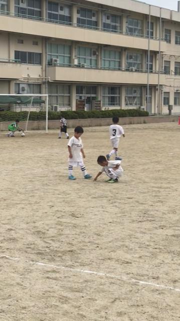 U8 練習試合in斑鳩東小