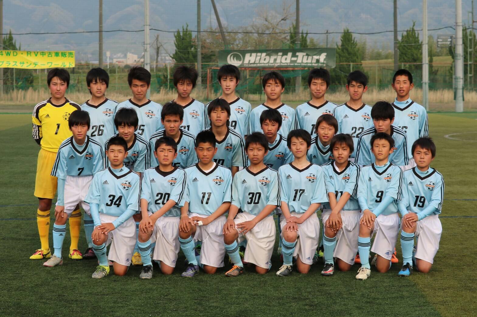 日本クラブユースサッカー(U-15)選手権大会 奈良県大会 【2次L】
