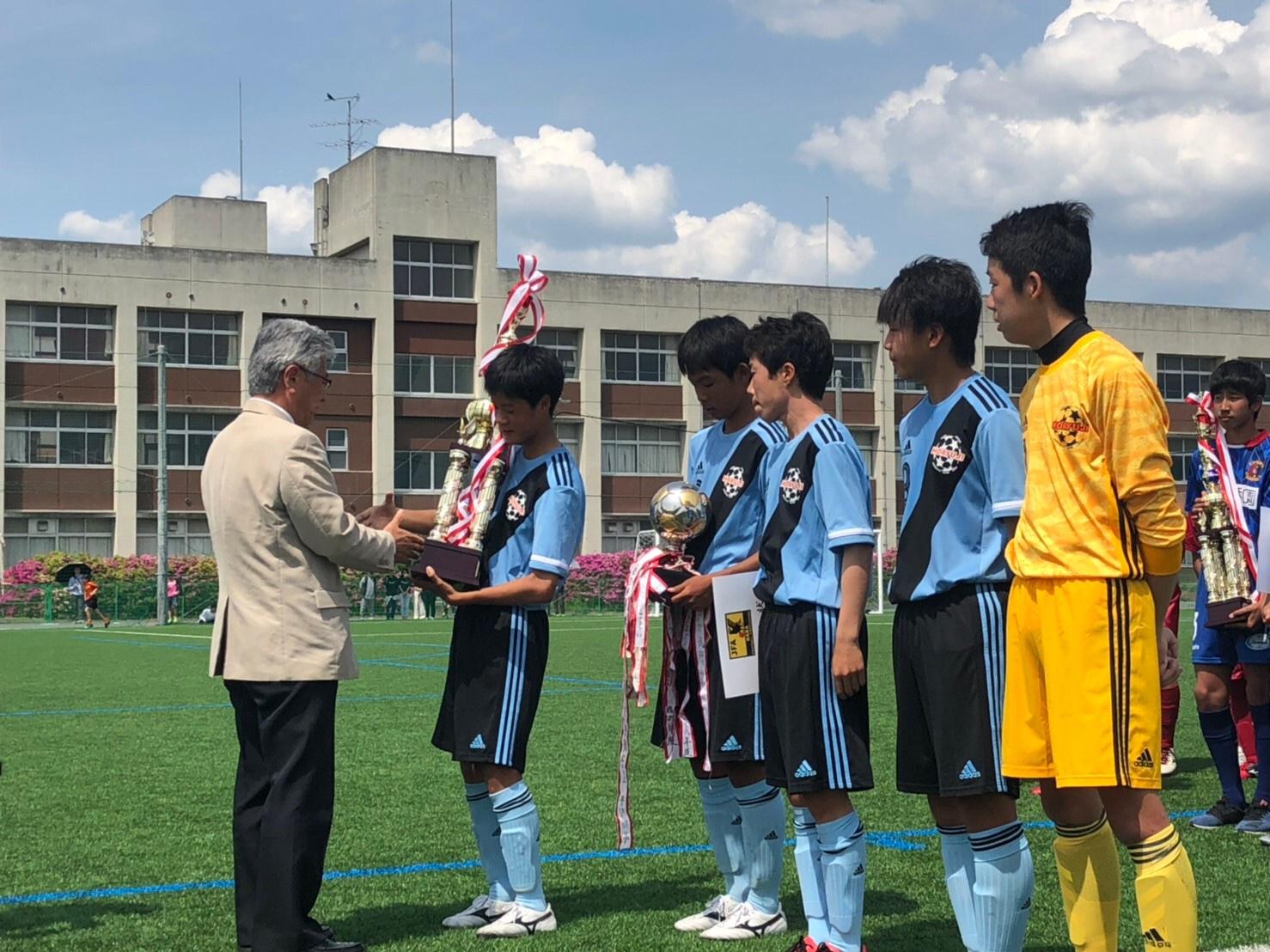 2019年度 第34回 日本クラブユースサッカー(U-15)選手権大会 奈良県大会